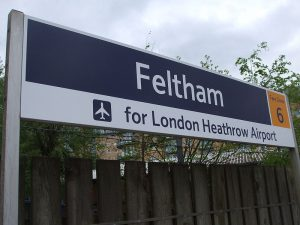 Taxi Transfer from Feltham to Gatwick Airport
