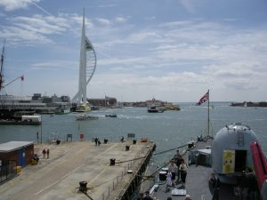 Taxi Transfer from London City Airport to Portsmouth Harbour